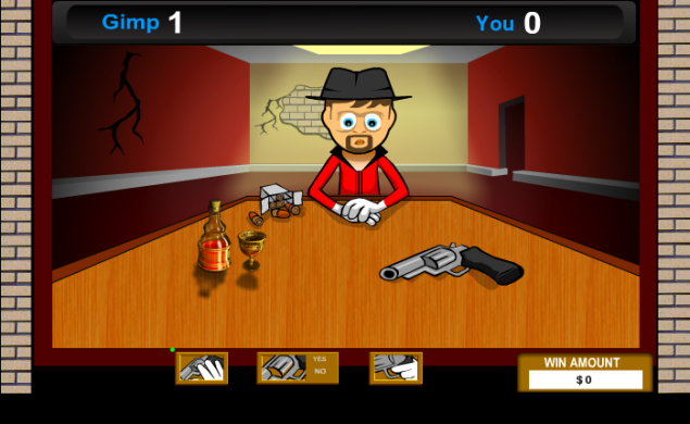 Russian Roulette:Multiplayer Flash Games