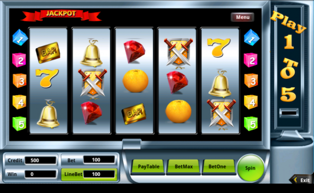 Slot Machine App