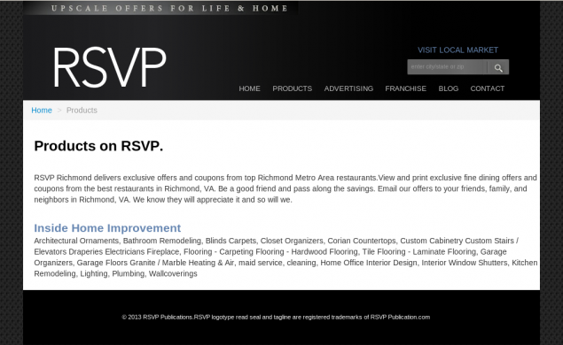 RSVP Backend Application